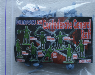Chin Toys 1/32 CT011 Confederate General Staff (ACW)